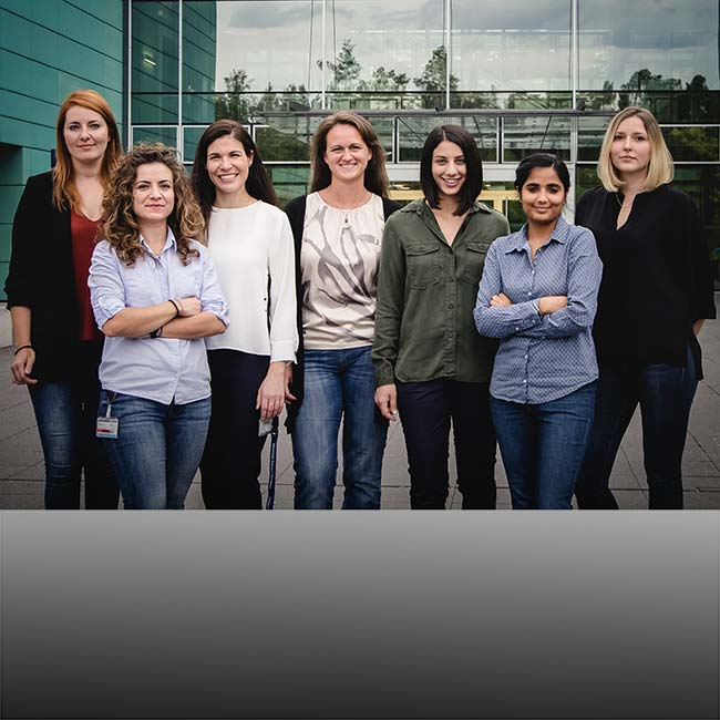 "Gruppenfoto von ""Women in Science"""