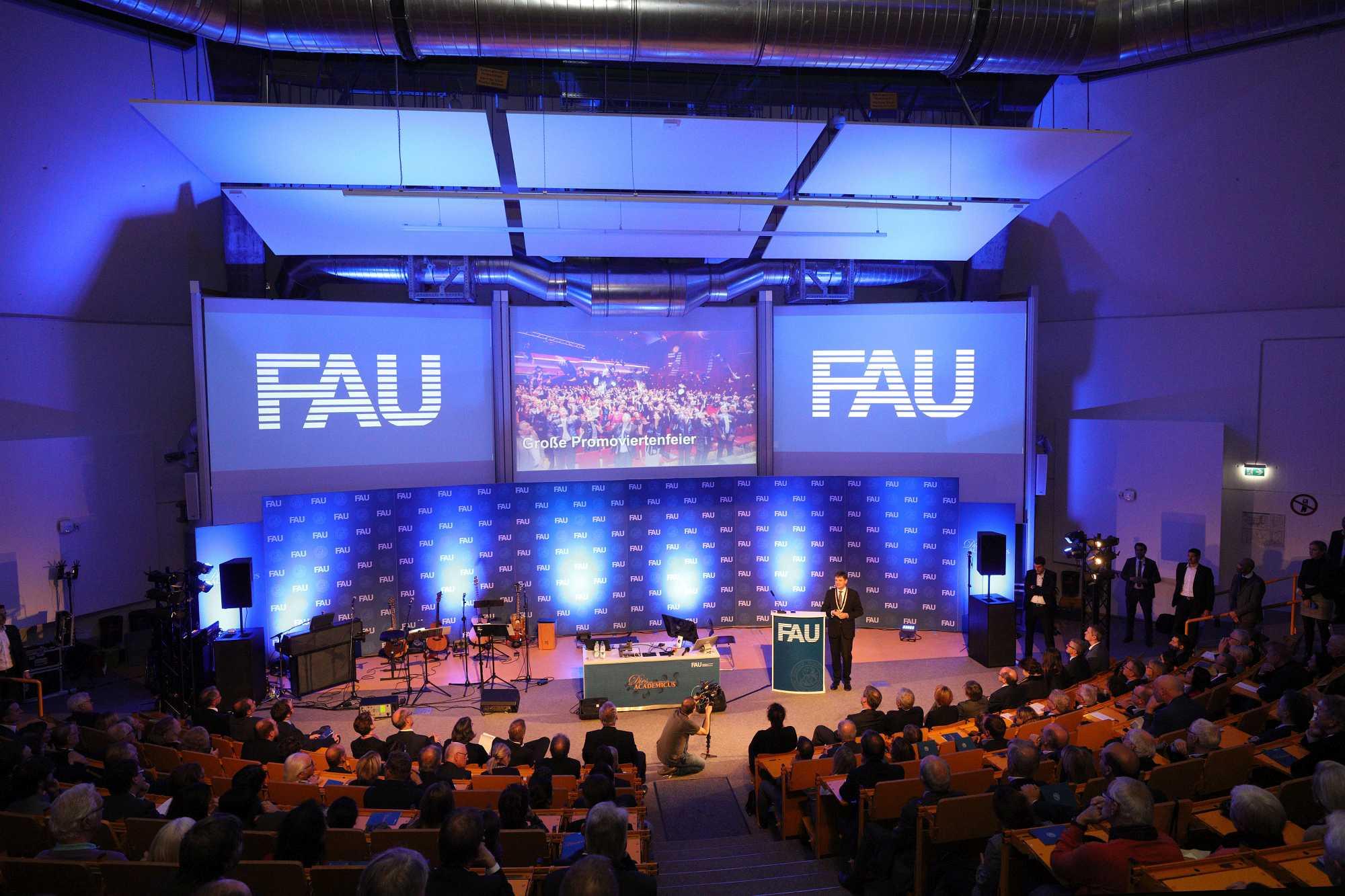 Publikum und Bühne