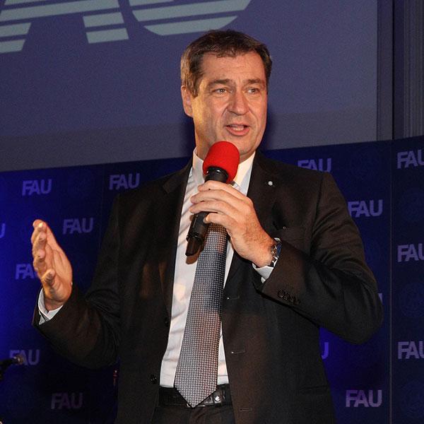 Dr. Marcus Söder beim Dies academicus 2019.